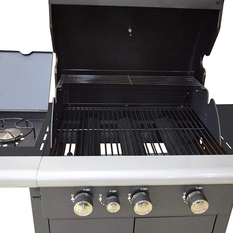 stainless steel cooking surface grill Neff Double Oven